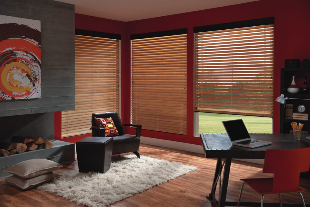 Natural Wood Blinds for Modern Interior Design