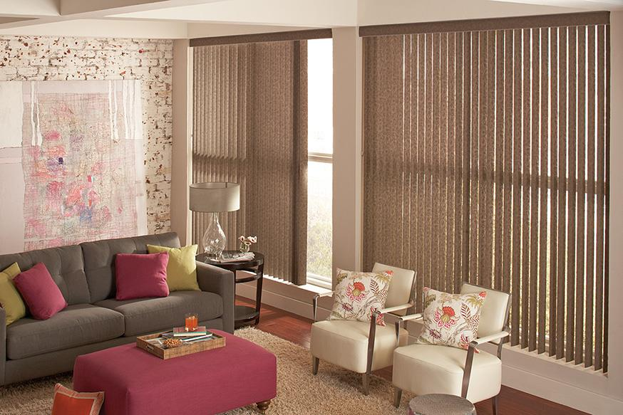 Vertical Blinds are perfect for professional settings