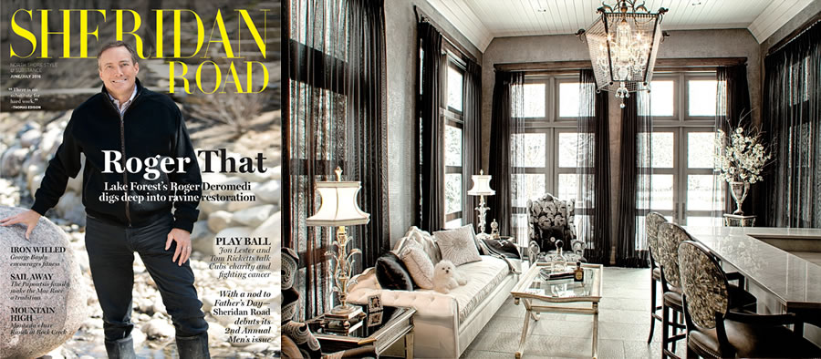 Sheridan Road Magazine features Drapery Connection