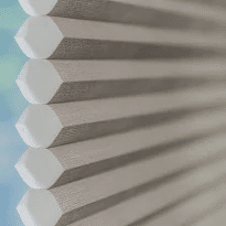 Noise Reduction Cellular Shades at Drapery Connection